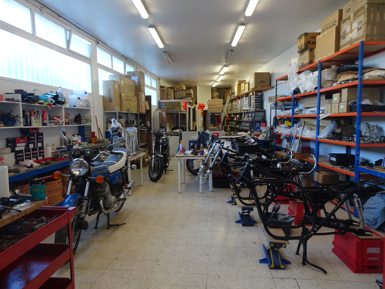 motos en cours restauration fevrier 2020 900z1 et 750h2